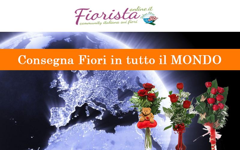 Consegna fiori e piante in tutto il mondo