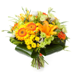 Bouquet solare arancio