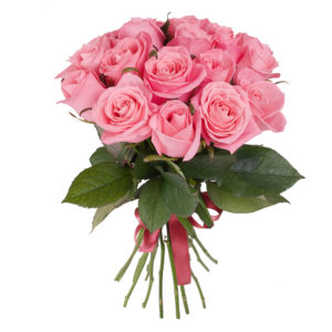 Bouquet di rose rosa